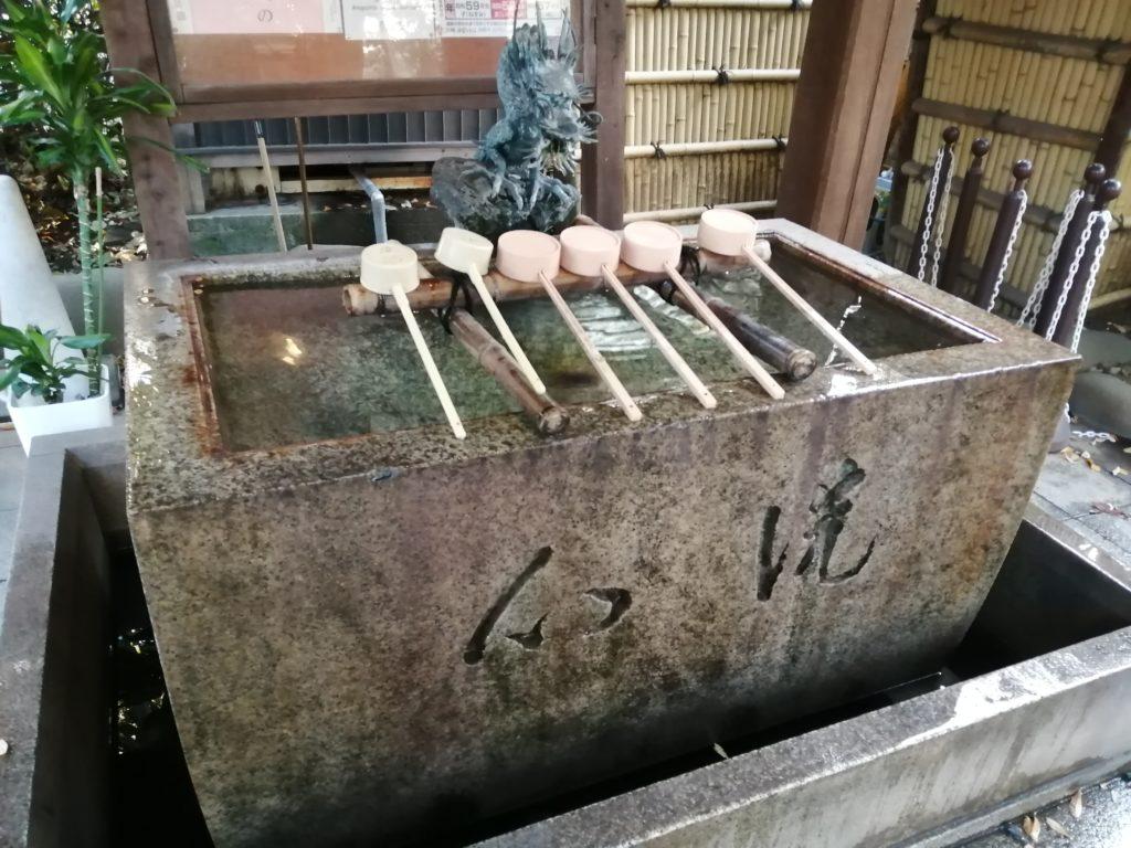 愛宕神社の手水舎