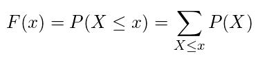 累積分布関数(離散)