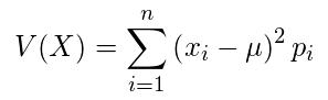 離散型確率変数の分散